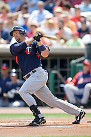 Cuddyer, Mike 7729.jpg. Minnesota Twins at Philadelphia Phillies. Spring Training Game. Saturday March 21st, 2009 in Clearwater, Florida. Photo by Andrew Woolley.