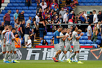 Hertha Berlin BSC clap their fans during the pre season friendly match between Crystal Palace and Hertha BSC at Selhurst Park, London, England on 3 August 2019. Photo by Carlton Myrie / PRiME Media Images.