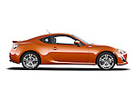 Passenger side profile view of a 2013 Toyota GT86 Sport Coupe .