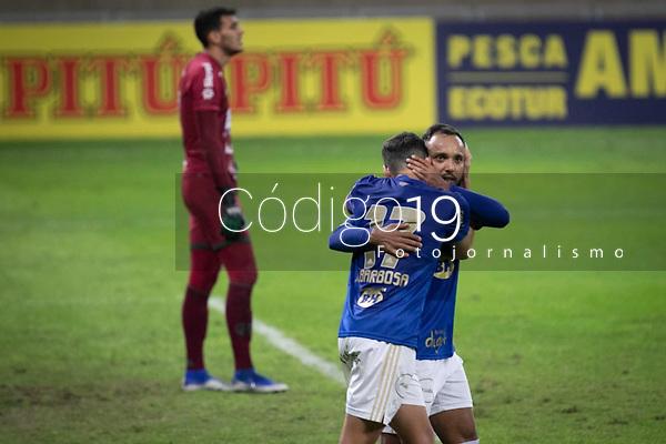 BELO HORIZONTE (MG) - 30/06/2021 - CRUZEIRO-GUARANI - BELO HORIZONTE (MG) - 30/06/2021 - CRUZEIRO-GUARANI - Gol de Matheus Barbosa - Partida entre Cruzeiro e Guarani, válida pela oitava rodada do Campeonato Brasileiro da série B 2021, realizada no Estadio Mineirão, na cidade de Belo Horizonte, nesta quarta feira (30)Partida entre Cruzeiro e Guarani, válida pela oitava rodada do Campeonato Brasileiro da série B 2021, realizada no Estadio Mineirão, na cidade de Belo Horizonte, nesta quarta feira (30)