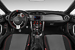 Stock photo of straight dashboard view of a 2015 Scion FR-S Release 2 Door Coupe Dashboard