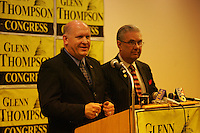 "Rep. John Peterson endorses Glenn ""GT"" Thompson for US Congress 5th District Seat - April 11, 2008"