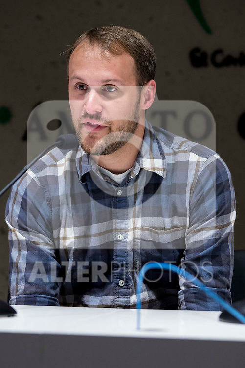 """American director Jason Sheedy during the press conference of the film """"Patient"""" during the Madrid International Fantastic Film Festival Nocturna in Madrid. May 25 2016. (ALTERPHOTOS/Borja B.Hojas)"""