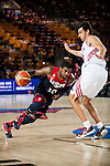 (L) Kile Irving of United States of America and (R) Kerem Gomlum of Turkey during FIBA Basketball World Cup 2014 group C between United States of America vs Turkey  on August 31, 2014 at the Bilbao Arena stadium in Bilbao, Spain. Photo by Nacho Cubero / Power Sport Images