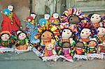 Mexico, Guanajuato, San Miguel de Allende, Souvenir Dolls