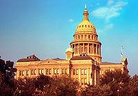 The Texas State Capitol, completed in 1888 in Downtown Austin, contains the offices and chambers of the Texas Legislature and the Office of the Governor. Designed in 1881 by architect Elijah E. Myers, it was constructed from 1882 to 1888 under the direction of civil engineer Reuben Lindsay Walker.
