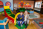 Philip O'Connor and Norita Cashman in their new business The Caddyshack indoor golf game in Killarney