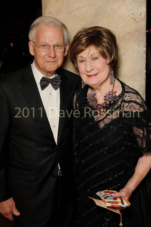 Cora Sue and Harry Mach at the Ole! A Night in Old Mexico Gala at the Museum of Natural Science Saturday March 05,2016.(Dave Rossman Photo)