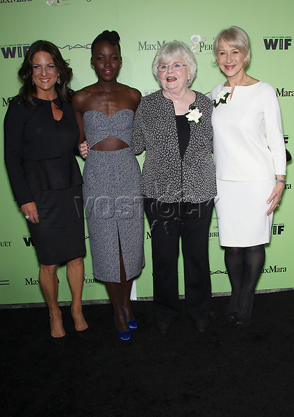 Women In Film Pre-Oscar Cocktail Party Presented By Perrier-Jouet, MAC Cosmetics & MaxMara At Fig & Olive Melrose Place<br /> <br /> Featuring: WOMEN IN FILM President Cathy Schulman,Lupita Nyong'o,Julie Delpy,Helen Mirren<br /> Where: West Hollywood, California, United States<br /> When: 01 Mar 2014<br /> Credit: FayesVision/WENN.com