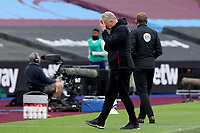21st March 2021; London Stadium, London, England; English Premier League Football, West Ham United versus Arsenal; A dejected West Ham United Manager David Moyes after his team gave up a 3-goal lead