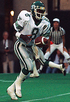 Homer Jordan Saskatchewan Roughriders 1985. Photo F. Scott Grant