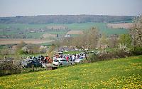peloton over the Camerig climb<br /> <br /> 50th Amstel Gold Race 2015