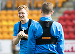 St Johnstone Training…04.04.17<br />Liam Craig pictured during training this morning ahead of tomorrow's game against Hearts<br />Picture by Graeme Hart.<br />Copyright Perthshire Picture Agency<br />Tel: 01738 623350  Mobile: 07990 594431