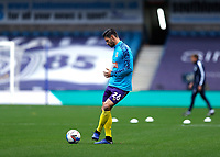 31st October 2020; The Den, Bermondsey, London, England; English Championship Football, Millwall Football Club versus Huddersfield Town; Christopher Schindler of Huddersfield Town during pre match