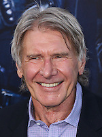 HOLLYWOOD, LOS ANGELES, CA, USA - AUGUST 11: Harrison Ford at the Los Angeles Premiere Of Lionsgate Films' 'The Expendables 3' held at the TCL Chinese Theatre on August 11, 2014 in Hollywood, Los Angeles, California, United States. (Photo by Xavier Collin/Celebrity Monitor)
