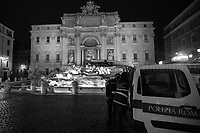 Fontana di Trevi.<br />