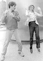 Kevin Kline Judy Collins 1978<br /> Photo By Adam Scull/PHOTOlink.net