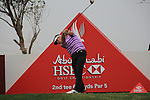 Pablo Martin teeing off on the second tee on day one of the Abu Dhabi HSBC Golf Championship 2011, at the Abu Dhabi golf club 20/1/11..Picture Fran Caffrey/www.golffile.ie.