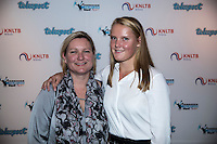 Amsterdam, Netherlands, December 12, 2016, Harbour Club, Tennisser van het Jaar,  Suzan Lamens<br /> Photo: Tennisimages/Henk Koster