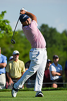 4th June 2021; Dublin, Ohio, USA; Patrick Reed (USA) watches his tee shot on 5 during the Memorial Tournament Rd2 at Muirfield Village Golf Club on June 4, 2021 in Dublin, Ohio.
