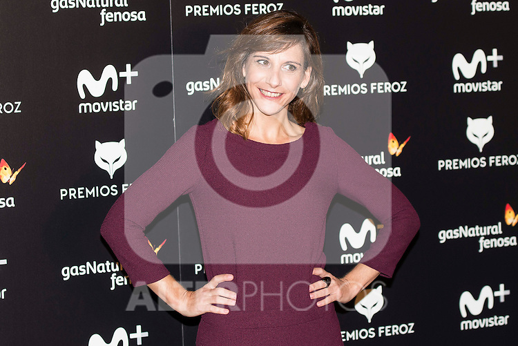 Malena Alterio attends to the finalists reading of the Feroz Awards 2017 at Casa America in Madrid, Spain. December 01, 2016. (ALTERPHOTOS/BorjaB.Hojas)