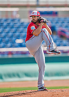29 February 2016: Washington Nationals pitcher Gio Gonzalez on the mound during an inter-squad pre-season Spring Training game at Space Coast Stadium in Viera, Florida. Mandatory Credit: Ed Wolfstein Photo *** RAW (NEF) Image File Available ***
