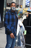 Michael Strahan Seen Exiting Good Morning America