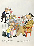 """Le Cafe des Amis""<br />