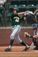 Baylor Bears shortstop Jake Miller #20 swings during the NCAA Regional baseball game against Oral Roberts University on June 3, 2012 at Baylor Ball Park in Waco, Texas. Baylor defeated Oral Roberts 5-2. (Andrew Woolley/Four Seam Images)