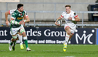 Friday 2nd October 2020 | Ulster Rugby vs Benetton Rugby<br /> <br /> Stewart Moore on the attack during the PRO14 Round 1 clash between Ulster Rugby and Benetton Rugby at Kingspan Stadium, Ravenhill Park, Belfast, Northern Ireland. Photo by John Dickson / Dicksondigital