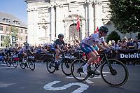 Pfeiffer Georgi (DSM/GBR)<br /> <br /> Women Elite - Road Race (WC)<br /> from Antwerp to Leuven (158km)<br /> <br /> UCI Road World Championships - Flanders Belgium 2021<br /> <br /> ©kramon