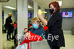 Mary Hanlon from Listowel getting her hair styled by Iwona Michalak in Danny's Hair and Beauty salon in Listowel