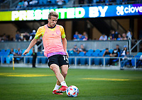 SAN JOSE, CA - AUGUST 17: Jackson Yueill before a game between Minnesota United FC and San Jose Earthquakes at PayPal Park on August 17, 2021 in San Jose, California.
