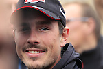 John Degenkolb (GER) Giant-Alpecin at the Team Presentations in Compiegne before the 2015 Paris-Roubaix cycle race held over the cobbled roads of Northern France. 11th April 2015.<br /> Photo: Eoin Clarke www.newsfile.ie