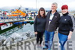 Jackie, Gerry and Nicole Treanor from Abbeydorney at the open day for the RNLI Lifeboat in Fenit