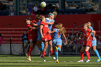 Bridgeview, IL - Sunday June 12, 2016:  during a regular season National Women's Soccer League (NWSL) match between the Chicago Red Stars and the Portland Thorns at FC Toyota Park.