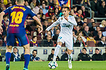 Lucas Vazquez of Real Madrid in action during the La Liga 2017-18 match between FC Barcelona and Real Madrid at Camp Nou on May 06 2018 in Barcelona, Spain. Photo by Vicens Gimenez / Power Sport Images