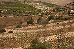"""Judea, Gush Etzion. A view from the """"Path of the Patriarchs"""""""