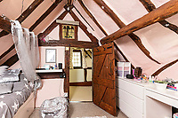 BNPS.co.uk (01202 558833)<br /> Pic: KnightFrank/BNPS<br /> <br /> The ultimate chocolate box cottage...<br /> <br /> A charming thatched cottage which featured on a Cadbury's chocolate box has emerged on to the market.<br /> <br /> Thatchways, in the picturesque village of Harvington, Worcs, appears on a large, rectangular 1978 Milk Tray box.<br /> <br /> The 16th century propertyis also believed to be the inspiration for the Strawberry Fields cottage by model maker Lilliput Lane.
