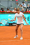 Mariam Hernandez during the Charity Day of the Mutua Madrid Open at Caja Magica in Madrid. April 29, 2016. (ALTERPHOTOS/Borja B.Hojas)