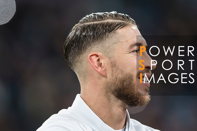 Sergio Ramos of Real Madrid prior to the La Liga match between Real Madrid and RC Deportivo La Coruna at the Santiago Bernabeu Stadium on 10 December 2016 in Madrid, Spain. Photo by Diego Gonzalez Souto / Power Sport Images