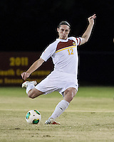 The Winthrop University Eagles beat the UNC Asheville Bulldogs 4-0 to clinch a spot in the Big South Championship tournament.  Adam Brundle (12)
