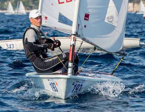 Sean Craig at Laser racing – he puts even more into sailing than he takes from it