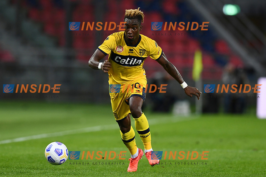 Yann Karamoh <br /> during the Serie A football match between Bologna FC and Parma Calcio 1913 at stadio Renato Dall Ara in Bologna (Italy), September 28th, 2020. Photo Image Sport / Insidefoto