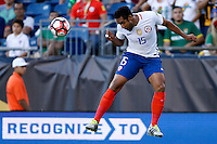 Action photo during the match Chile vs Bolivia at Gillette Stadium Copa America Centenario 2016. ---Foto  de accion durante el partido Chile vs Bolivia, En el Estadio Gillette, Partido Correspondiante al Grupo - D -  de la Copa America Centenario USA 2016, en la foto: Jean Beausejour<br /> <br /> --- 10/06/2016/MEXSPORT/PHOTOSPORT/ Andres Pina