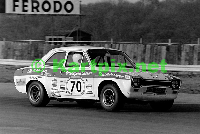 Ted Savory, 1972 BRDC International Trophy support race at Silverstone.