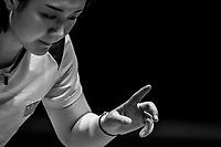 WANG Manyu of China vs CHEN Meng of China during quarter finals of ITTF World Tour Grand Finals 2018 at Namdong Gymnasium, Namchondorim-dong, Incheon, on 14  December 2018, Korea Republic, KOR.  Photo by : Ike Li / Ike Images
