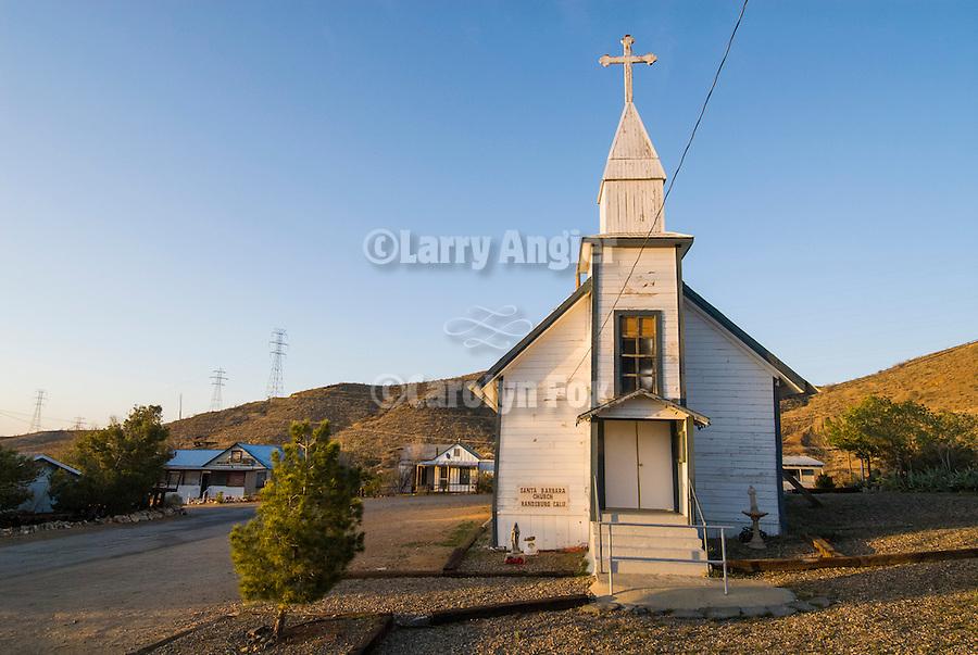Santa Barbara Catholic church, Randsburg, Calif.