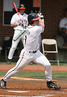 Brandon Marsh of the Virginia Cavaliers vs. the Miami Hurricanes:  March 24th, 2007 at Davenport Field in Charlottesville, VA.  Photo By Mike Janes/Four Seam Images