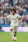 Marcelo Vieira Da Silva of Real Madrid in action during the La Liga 2018-19 match between Real Madrid and CD Leganes at Estadio Santiago Bernabeu on September 01 2018 in Madrid, Spain. Photo by Diego Souto / Power Sport Images